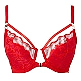 Figleaves Curve Amore Red Front Fastening Bra