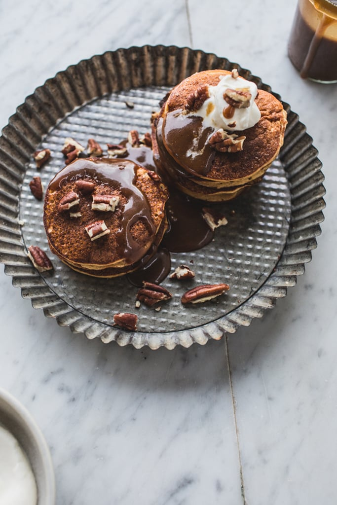 Gluten-Free Sticky Toffee Pudding Pancakes