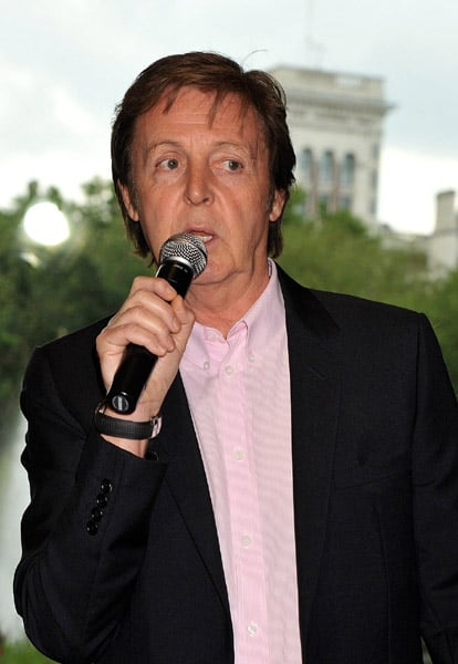 "Paul McCartney & Friends Launch ""Meat Free Mondays"""