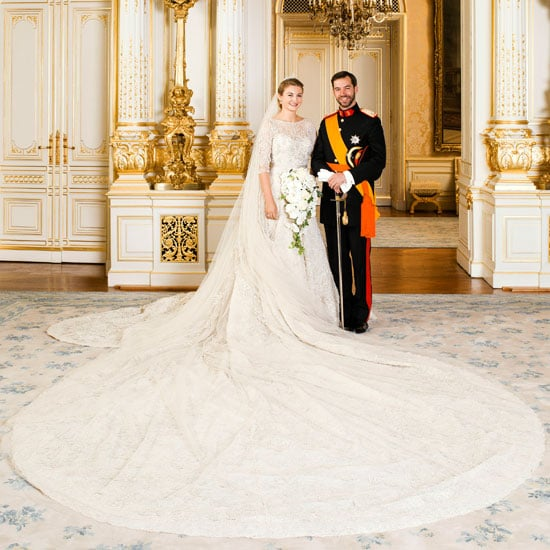 See the Royal Wedding Pictures of Prince Guillaume of Luxembourg and Countess Stephanie de Lannoy