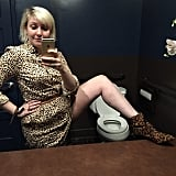 When she channeled Snooki and admitted to her love of leopard print.