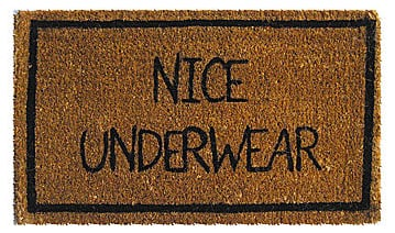 Love It or Hate It? Nice Underwear Mat