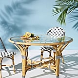 Rattan Bistro Table