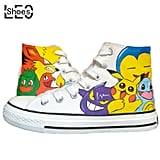 Animation Pokémon Painted Shoes