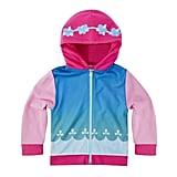 The Sweatshirt Has Cute Designs on the Hood and Bottom