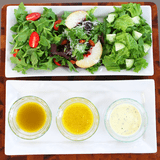 Salad Dressings in a Mason Jar