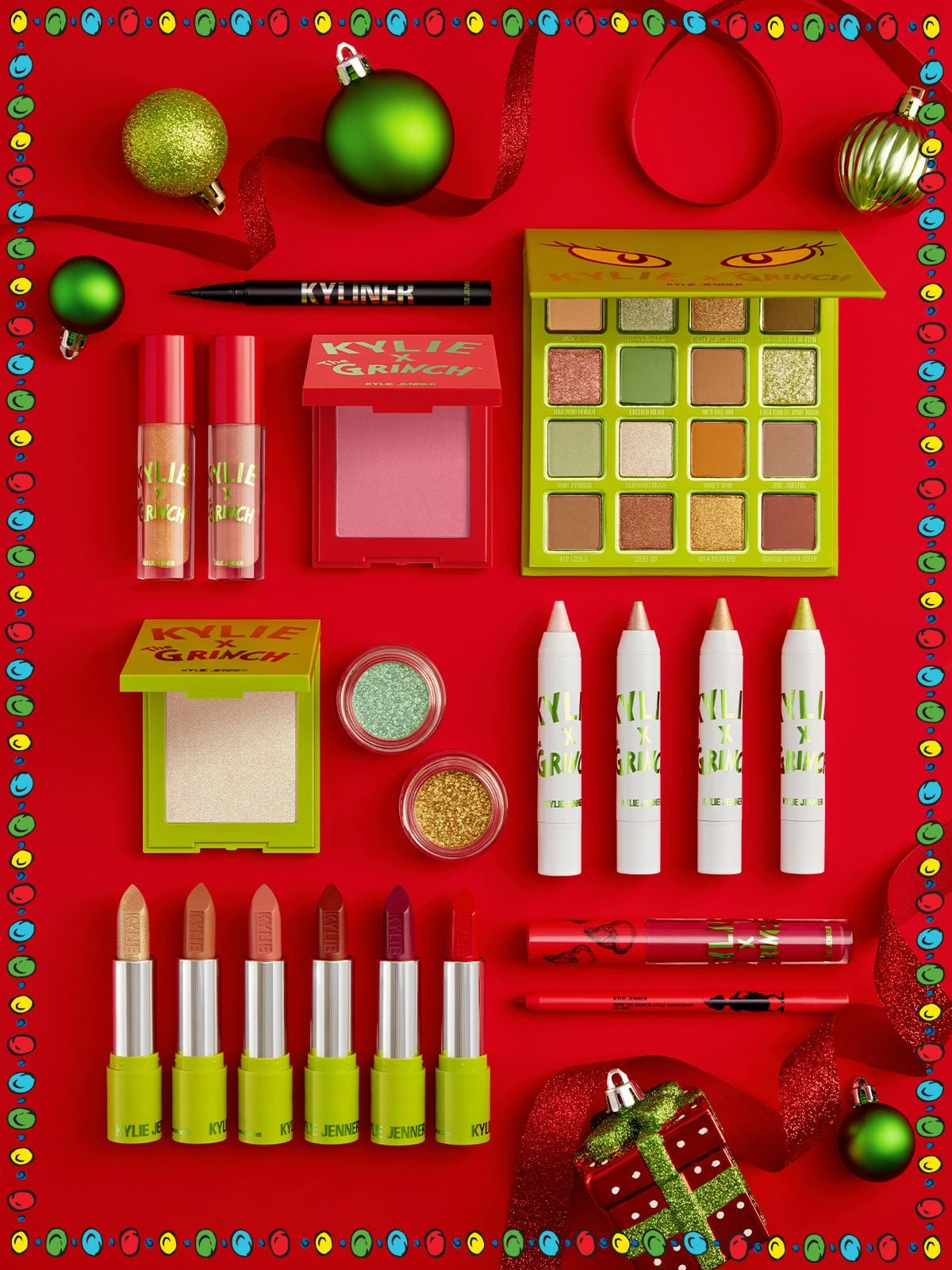 Kylie Christmas Collection 2021 Kylie Cosmetics X The Grinch Holiday Collection Popsugar Beauty