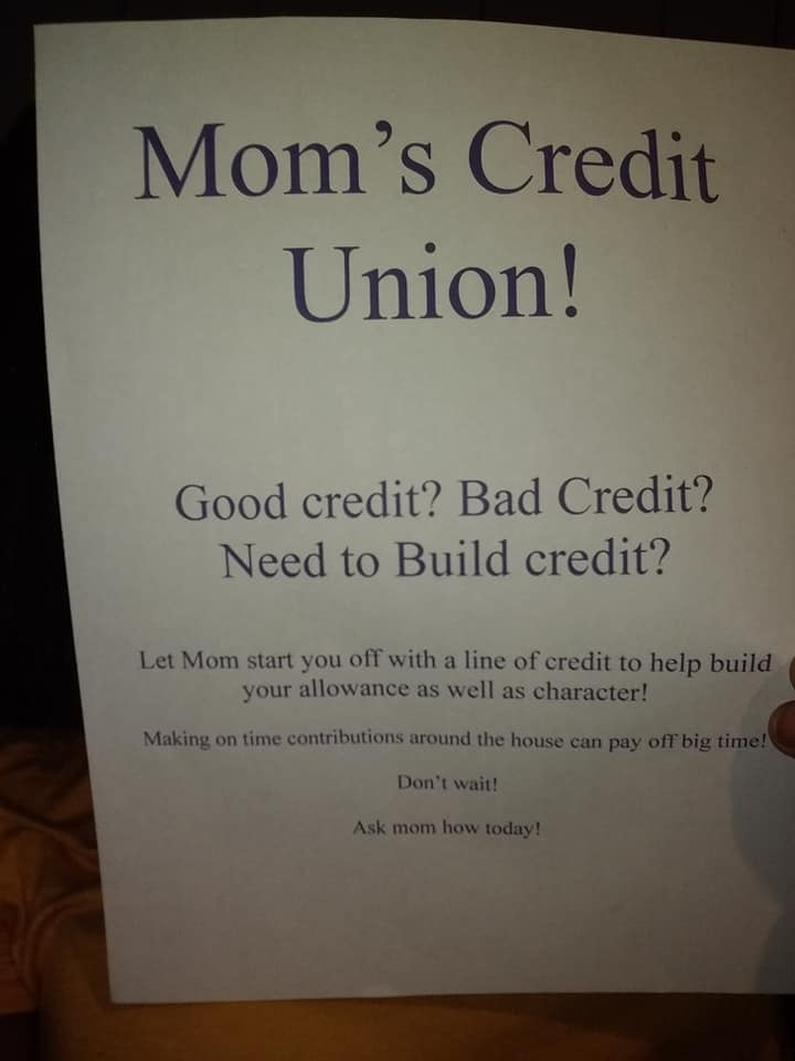 When This Mom's Kids Asked For an Allowance, She Held a Job Fair For Them — LOL, Bravo!