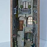 Hidden World of Old Italy Book Nook Bookshelf Insert