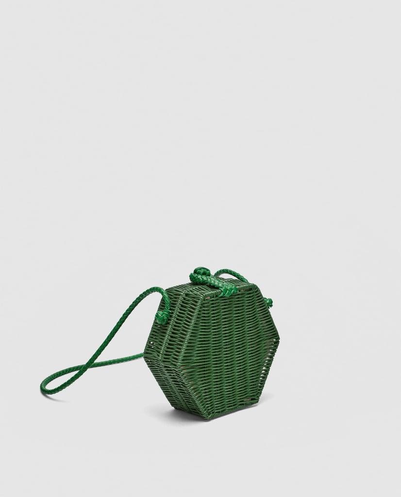 0d8c7b5b21a0c2 Zara Hexagonal Crossbody Bag   Zara Sale Summer 2018   POPSUGAR ...