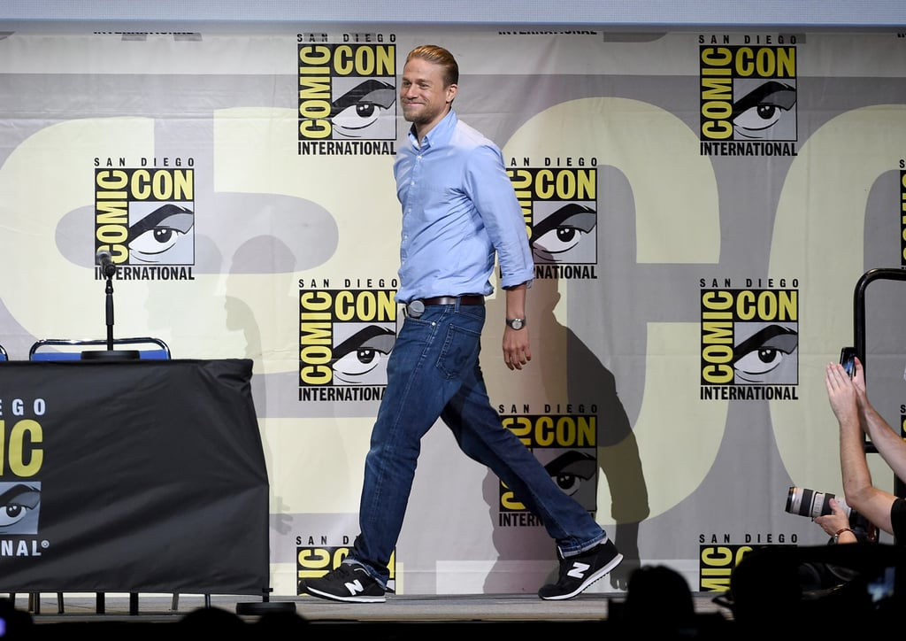 Charlie Hunnam at Comic-Con 2016   Pictures