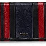 Balenciaga Bazar Money Stripe Pouch