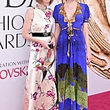 Bee and Anna both wore Gucci to the 2016 CFDA Fashion Awards. Bee completed her look with Irene Neuwirth jewels.