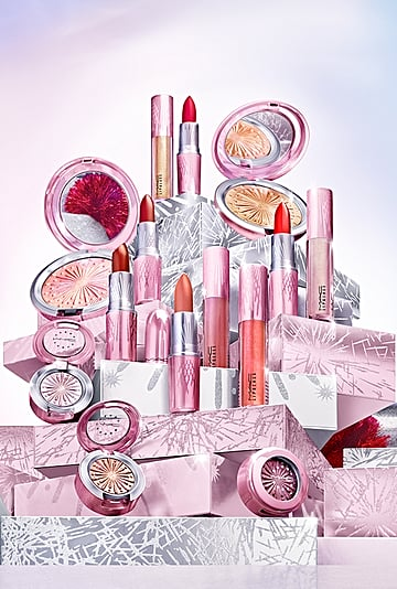 MAC Cosmetics Frosted Firework Christmas Collection