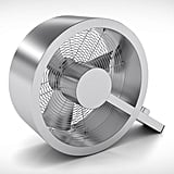 Form and function come together beautifully in the Stadler Form Q Fan ($179). The crisp, stainless steel and aluminum fan is carefully constructed into a Q shape, balancing on one leg.