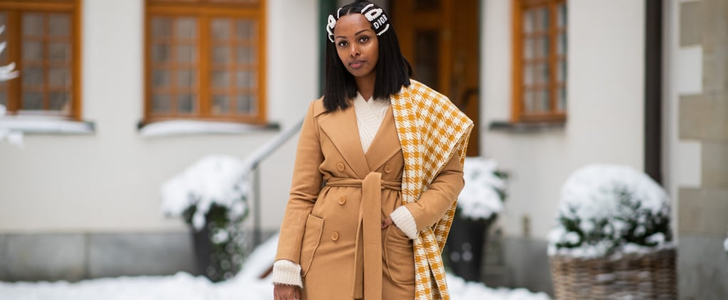Winter Outfit Ideas For Styling Your Blanket Scarf