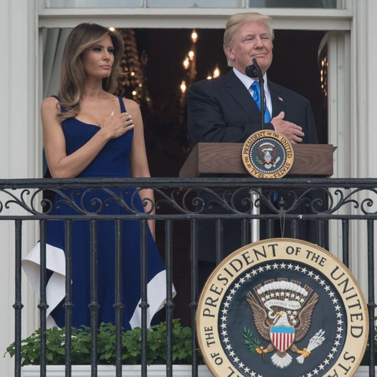 Melania Trump Esteban Cortazar Dress July 4 2017