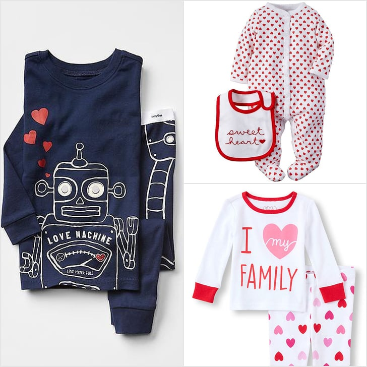 Schön Your Little One Will Have The Sweetest Dreams In These Valentineu0027s Day  Pajamas