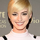 Anne Hathaway With a Pixie Cut