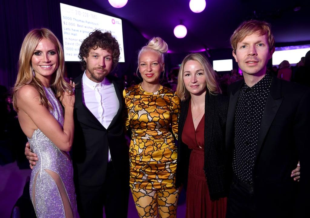 Heidi Klum, Erik Anders Lang, Sia, Marissa Ribisi and Beck