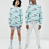 Disney The Lion King x ASOS Design Unisex Relaxed Sweater in Zazu Knit