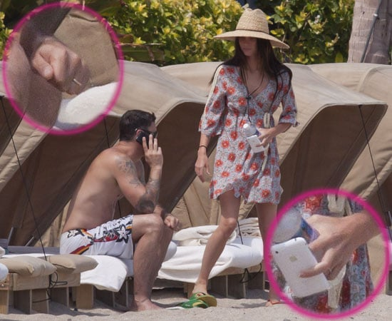 Pictures of Megan Fox and Brian Austin Green Wedding Rings