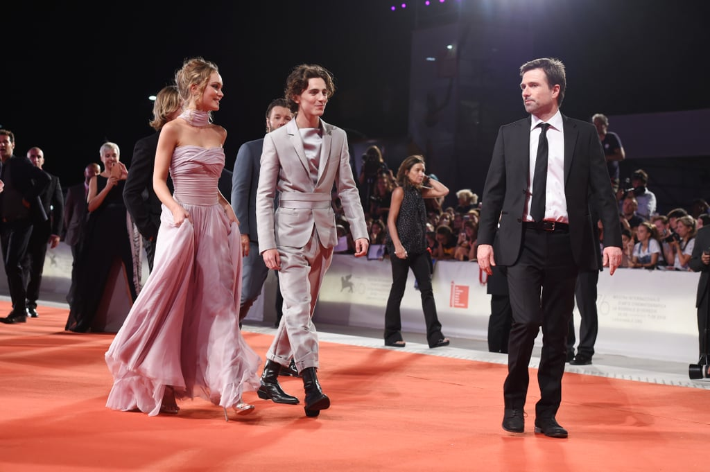 Lily-Rose and Timothée at The King Premiere at the Venice Film Festival, September 2019