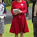Carole Middleton in June 2012