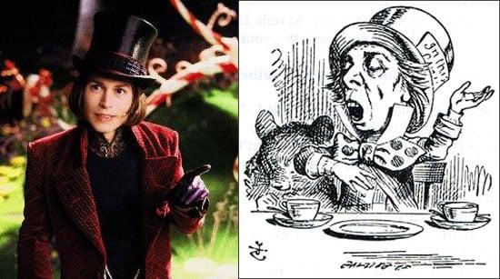 Johnny Depp to Play Mad Hatter in Burton's Wonderland
