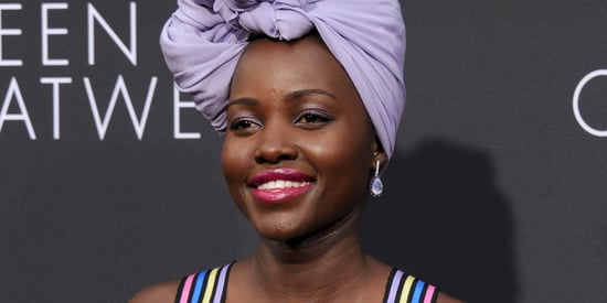 Lupita Nyong'o Is Ridiculously Radiant In A Lavender Gown