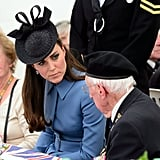 Kate Middleton Plays the Perfect Tea Hostess For D-Day Vets