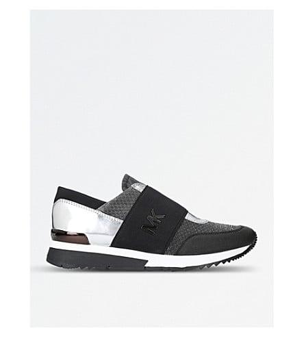 black trainers no laces Shop Clothing