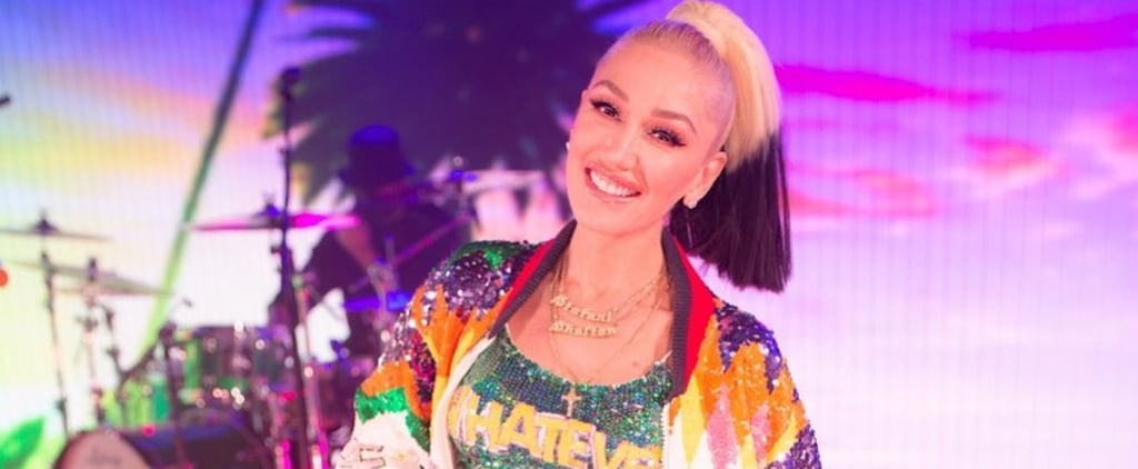 See Gwen Stefani Wearing a Glitter Outfit on the Today Show