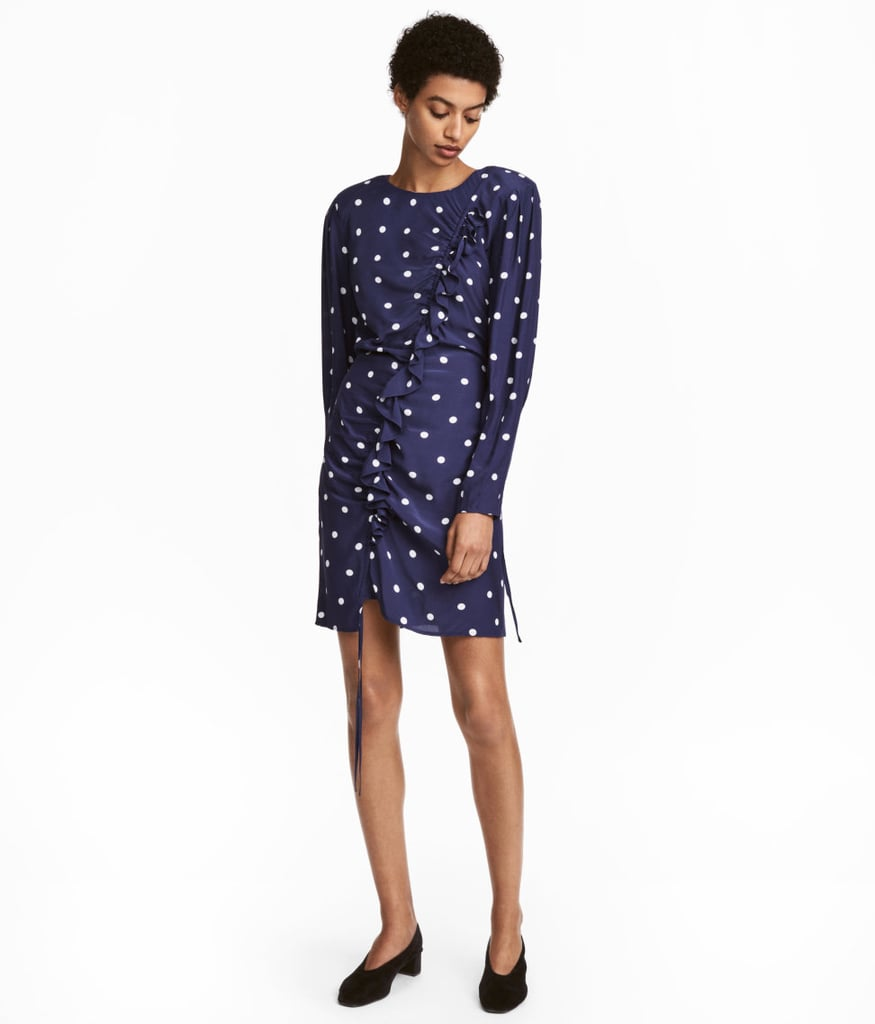 H&M Dress With Drawstring