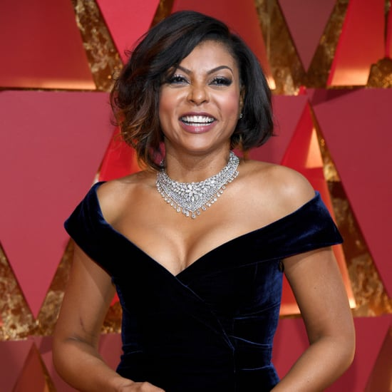 Taraji P. Henson Stealing Cookies at the 2017 Oscars GIF