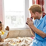 When Harry Visited With Sick Children in Nepal