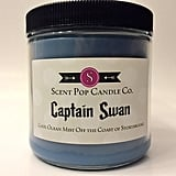 Captain Swan Candle ($19)