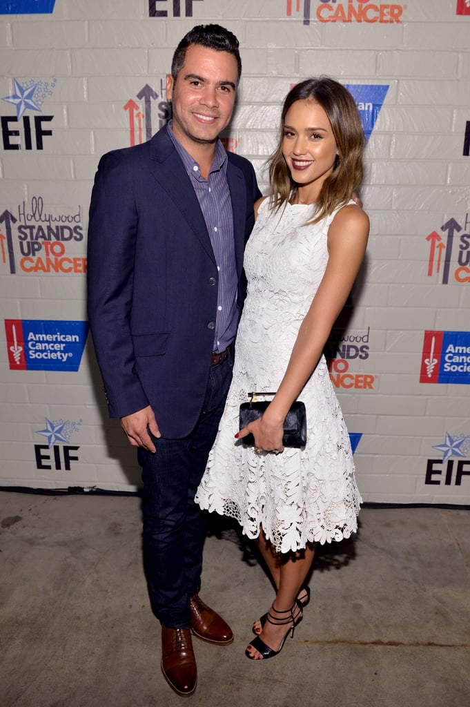 Celebrities at Stand Up to Cancer Event 2014