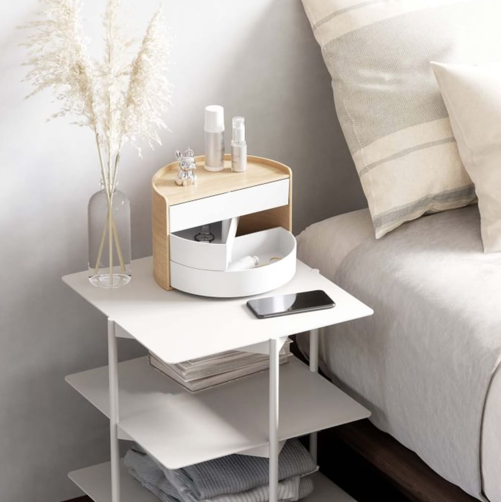 A Box That Holds It All: West Elm Moona Storage Box