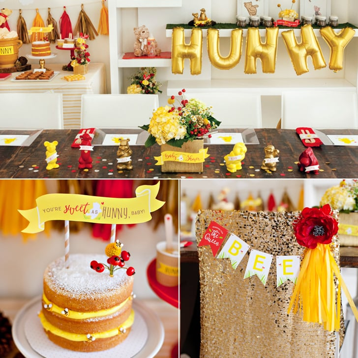 Pretty Winnie The Pooh Baby Shower Ideas Popsugar Family
