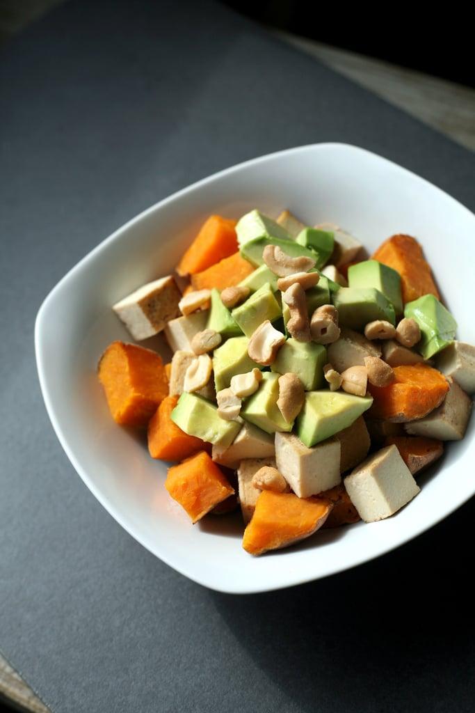Sweet Potato, Tofu, and Avocado Breakfast Bowl