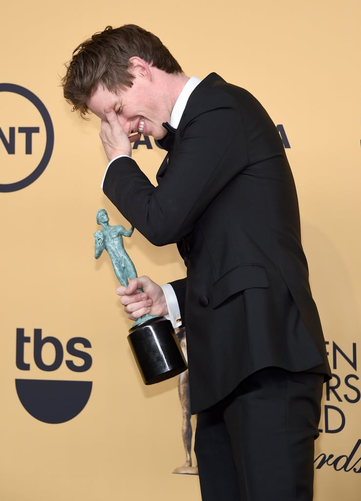 Eddie Redmayne could not believe he won in 2015.