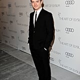 Elijah Wood hit the red carpet at The Art of Elysium's sixth annual Heaven gala.