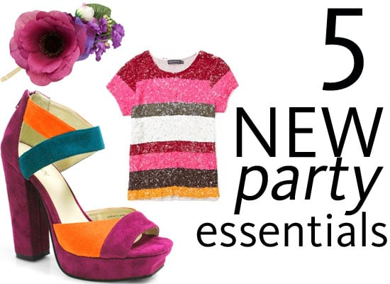Best New Party Season Style Essentials: Embellished Tee, Colour Blocked Heels, Bras to Put on Show, Head Bling and more!