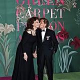 Sophia Loren and Valentino Garavani at The Green Carpet Fashion Awards 2019