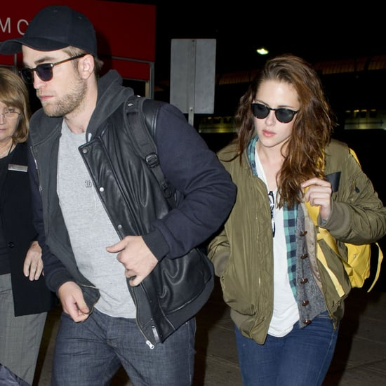 Robert Pattinson and Kristen Stewart at JFK