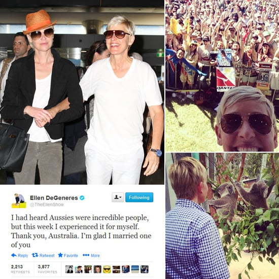 Ellen DeGeneres' Australian Diary — See What She Got Up To!