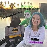 Harper Beckham's Billie Eilish Halloween Costume 2019