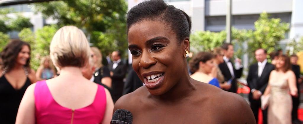 OITNB's Uzo Aduba Interview at the 2014 Emmy Awards (Video)