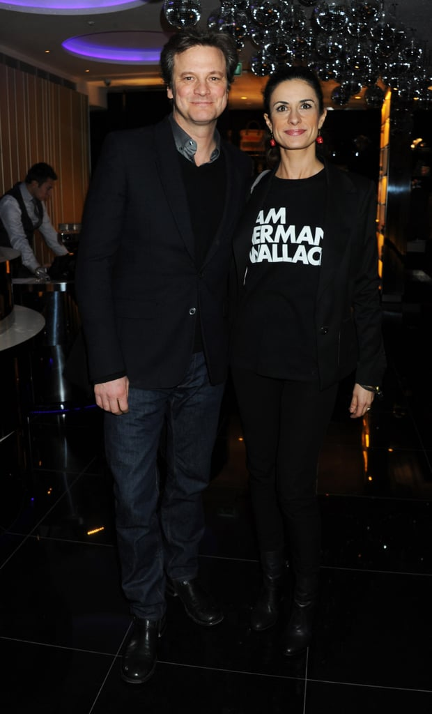 Colin Firth and wife Livia Giuggioli attended Vogue.com's 15th anniversary party in London last night. Livia also posed with Lily Cole, Laura Bailey, and Dolly Jones at the fashionable bash. Colin has been winning accolades throughout award season for The King's Speech, and his success has reportedly put him in the frame to play Professor Henry Higgins in the remake of My Fair Lady, which will reportedly also star Carey Mulligan as Eliza Doolittle. The movie has gone through various recasting, including Keira Knightley withdrawing from the main female role, but if Carey and Colin get on board it will be shot next year.